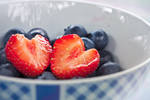 I heart strawberries by Pamba