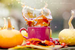 Fresh autumn tea