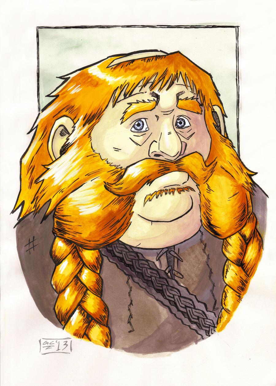The Hobbit - Bombur Portrait by GraySceal