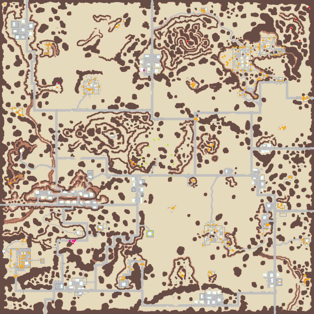 Survivalist Ingame Map High Resolution By Jonius On Deviantart Usa Map Games