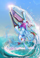 Rainbow Dash JetSki by Toonlancer