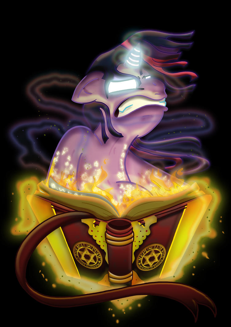 TWILIGHT Pagemaster by Toonlancer