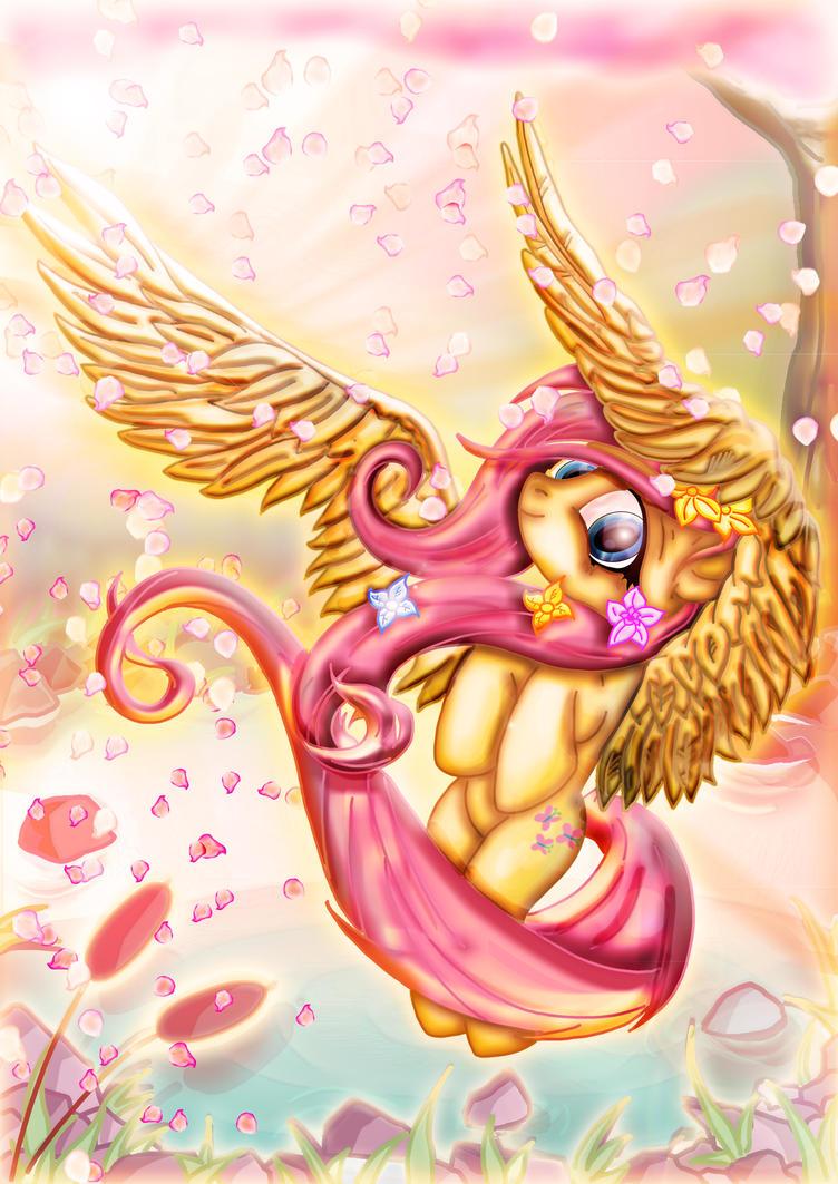 Flutter Fluttershy by Toonlancer