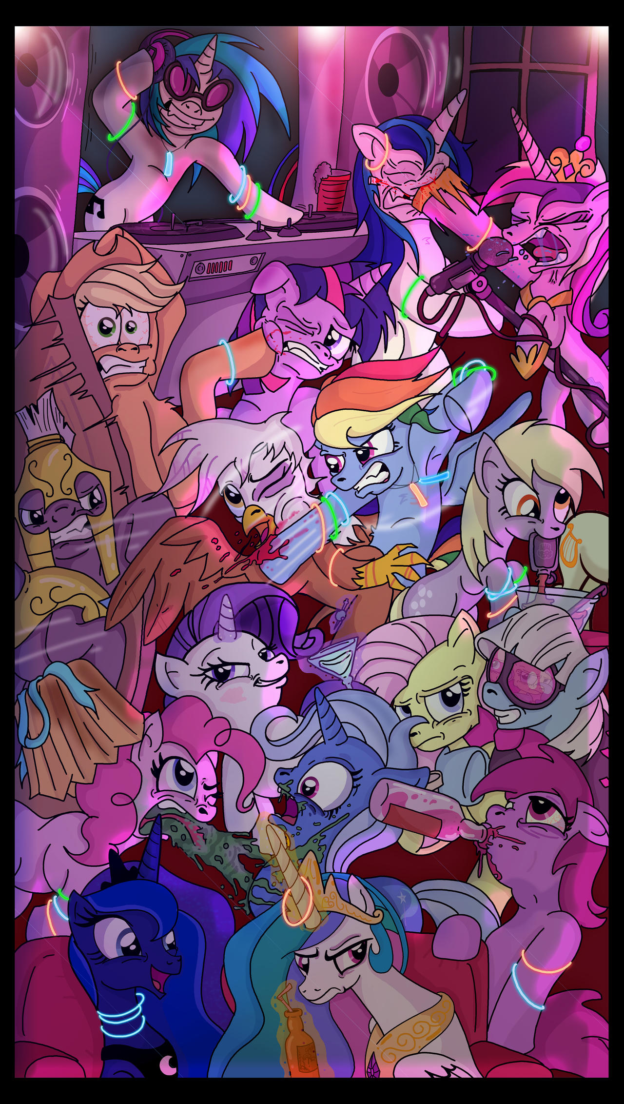 Pony Party by Toonlancer