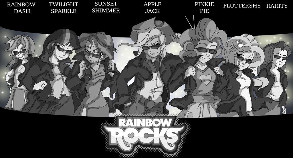 Rainbow Rocks Band Tour by Toonlancer