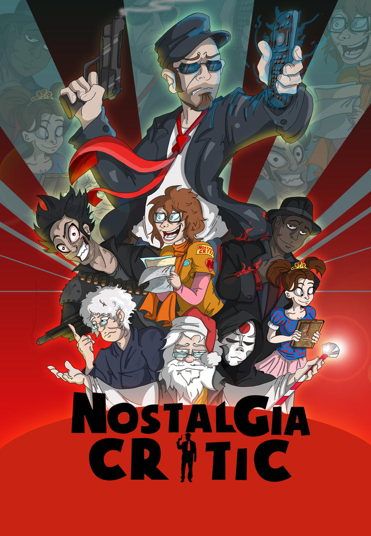 Nostalgia Critic by Toonlancer