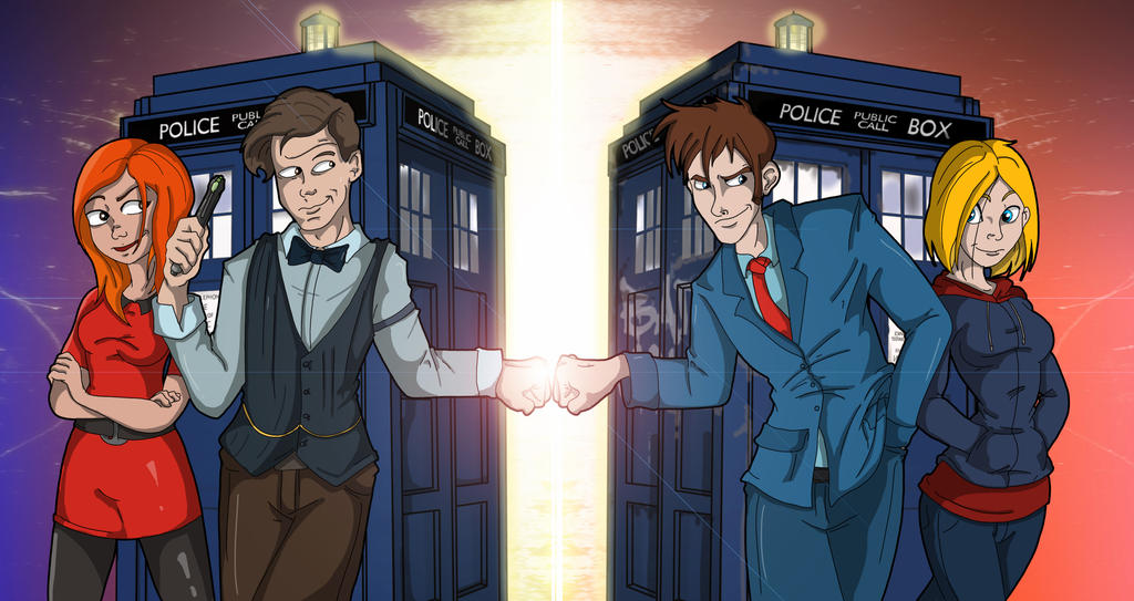 The Doctor who by Toonlancer