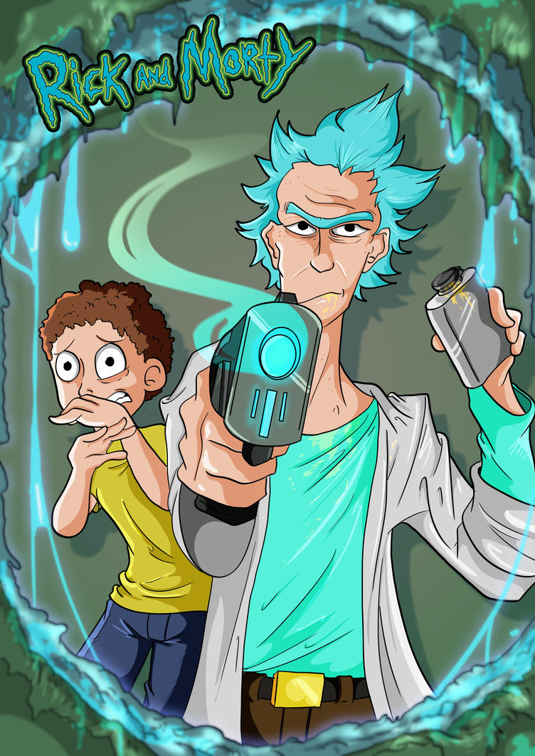 Rick and Morty by Toonlancer