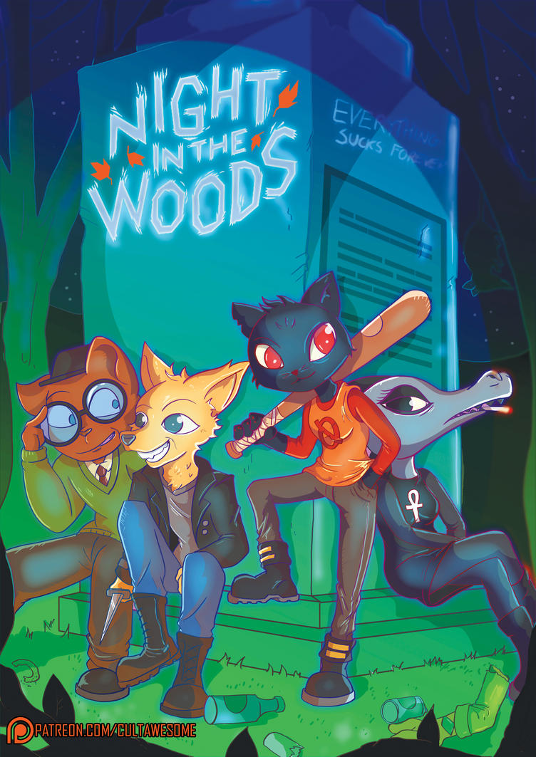 Night In The Woods by Toonlancer