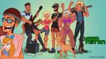 Funhaus Hard nettin cosplay by Toonlancer