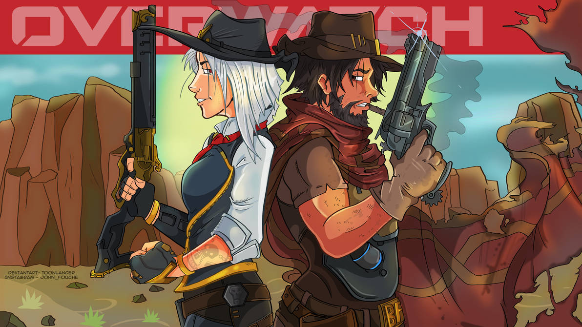 Ashe McCree by Toonlancer
