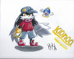 Klonoa 15th anniversary painting