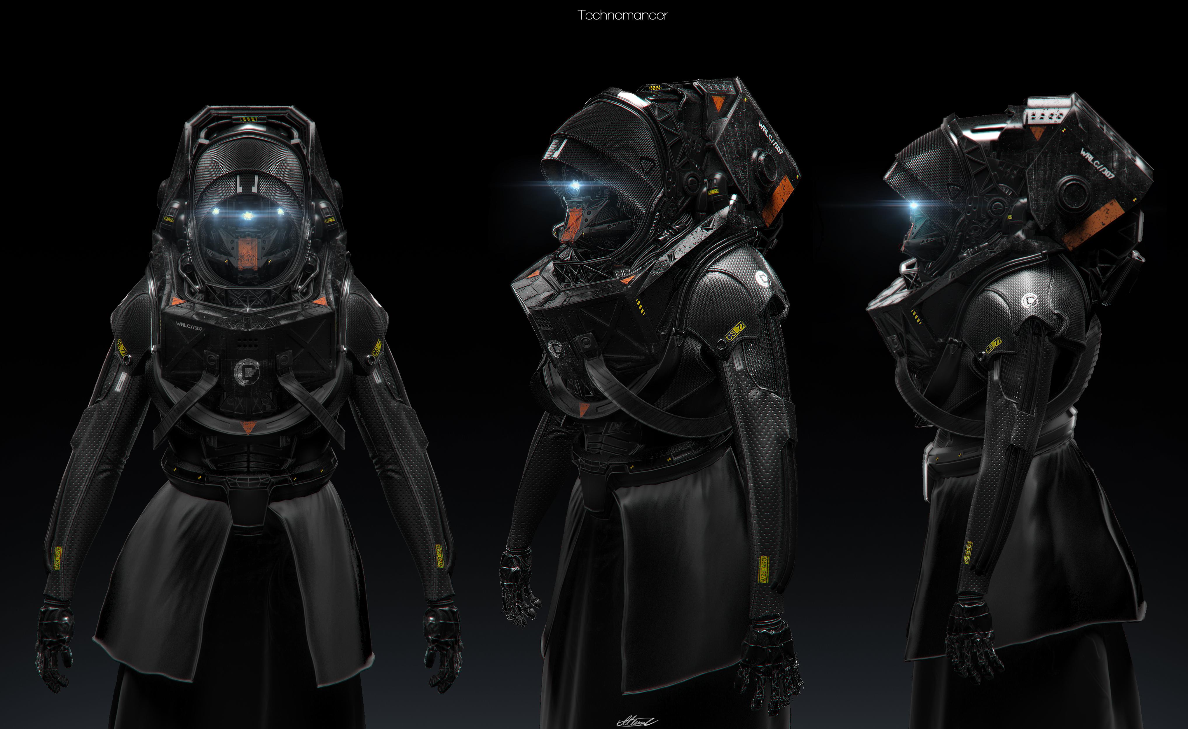Technomancer by SeaMonkey1