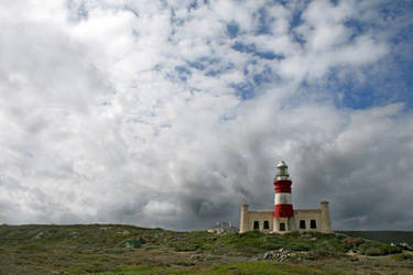 Grumpy lighthouse by MaresaSinclair