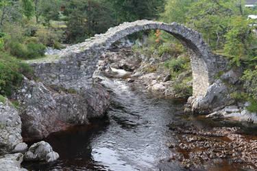 Stock - An Ancient Bridge by MaresaSinclair