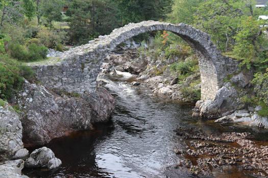 Stock - An Ancient Bridge
