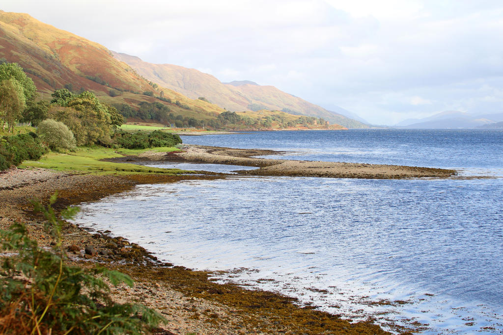 The shores of Loch Eil by MaresaSinclair