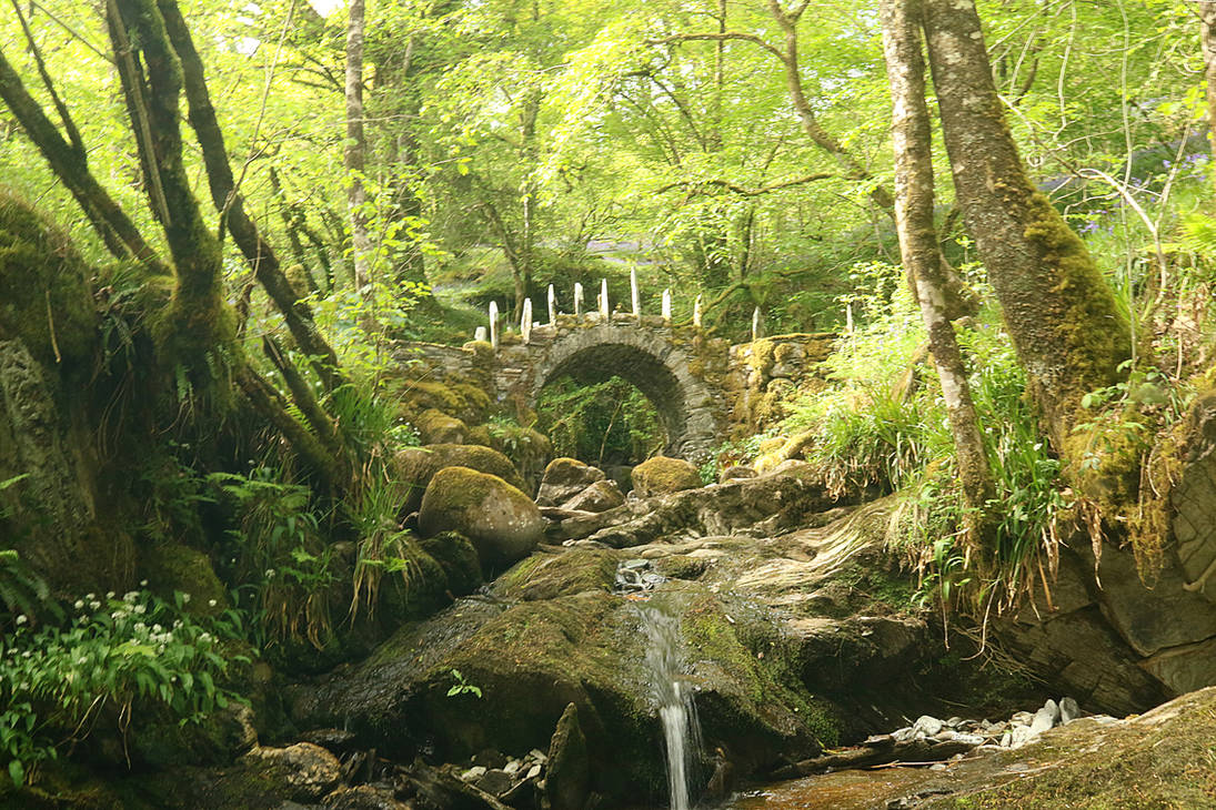 The Fairy Bridge in Glen Creran by MaresaSinclair
