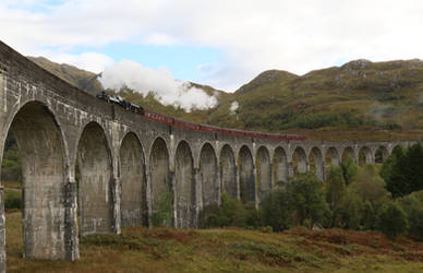 The so called Harry Potter train
