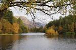 Autumn colours at the Glencoe Lochan