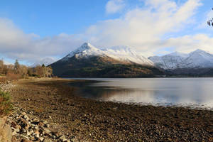 Winter on Loch Leven