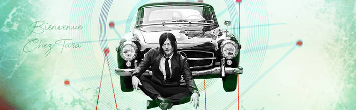 Norman Reedus by Taraserie