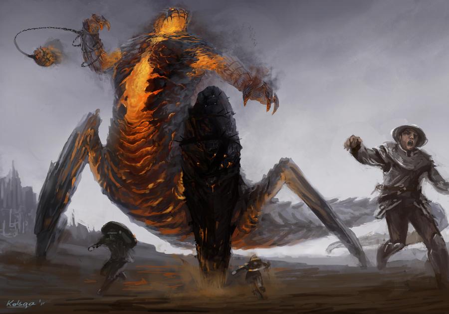 Rift : Fire Colossus by Kolsga