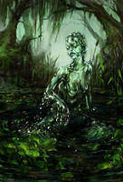 Water Elemental by Kolsga