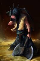 warrior kid by Kolsga