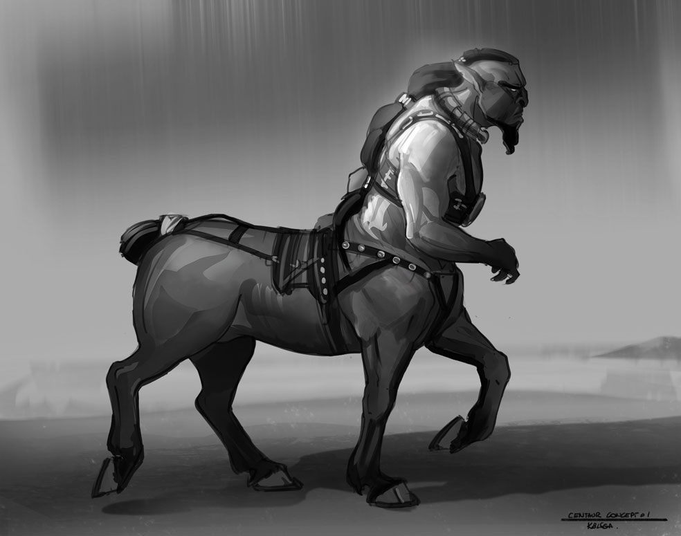 Centaur concept by Kolsga