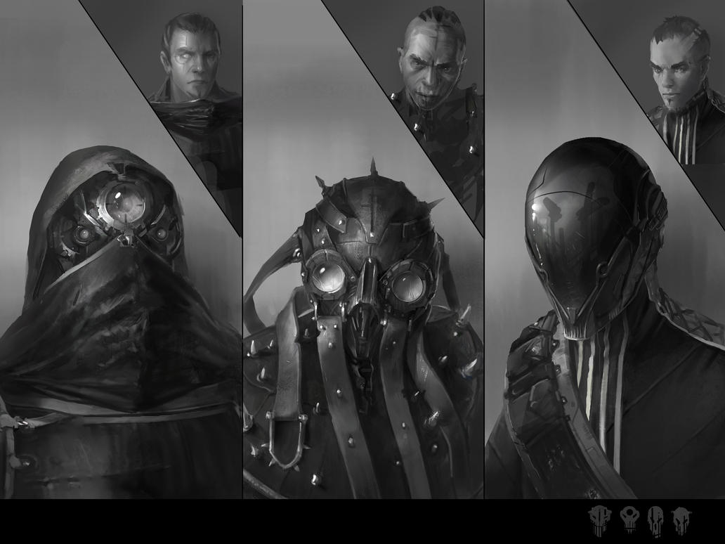 helmets concepts by Kolsga
