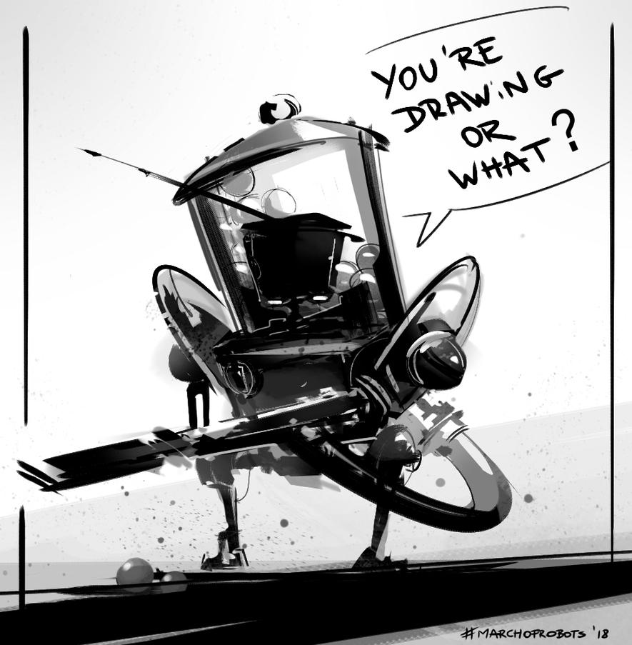 Sketch MarchofRobots by Kolsga