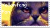 Yellowfang Fan Stamp by Warriorcats-Stamps
