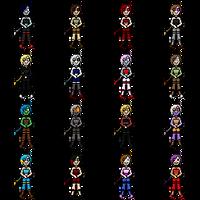 Pixel Scarlet (palette swaps) by nettimato