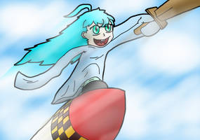 Riding a Missile by nettimato