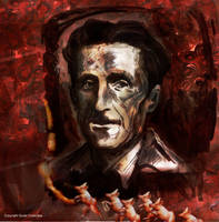 Tribute to George Orwell by DreamMaze