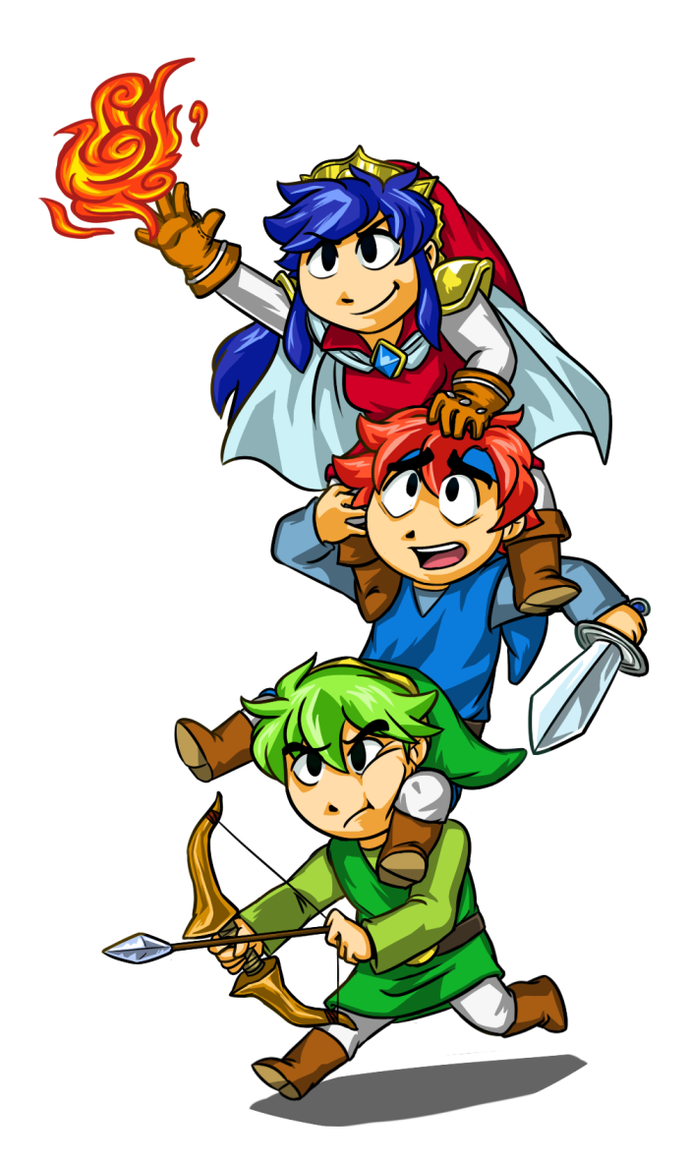 Triforce Lycians by RisingSunfish