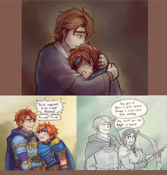 Eliwood: an FE Dad Who Is Nice and Also Alive
