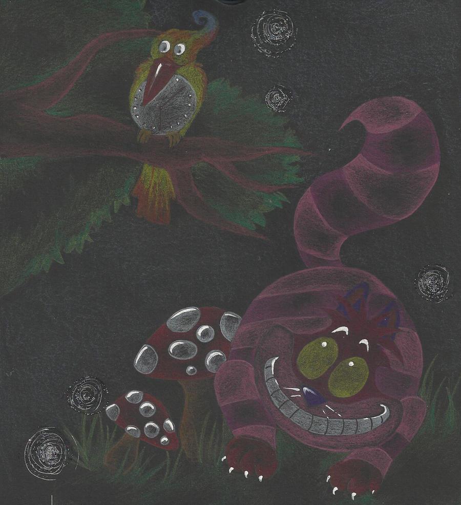 Black wonderworld by xXGrinsekatze
