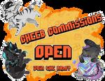 Cheeb Commissions Open by xXGrinsekatze