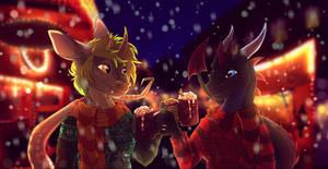 Christmas Market by xXGrinsekatze