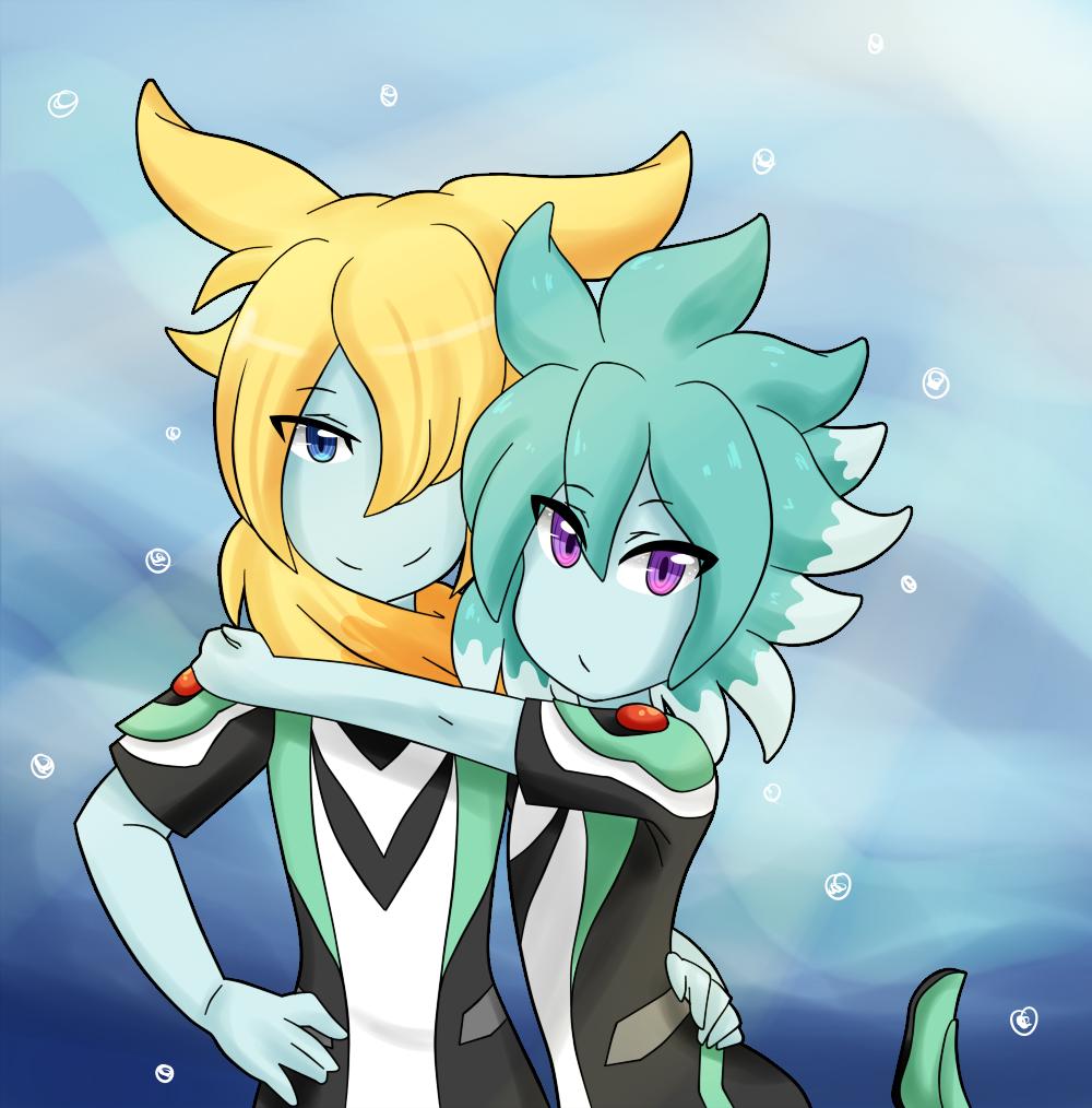 Rydoras and Guraami by VIMYO