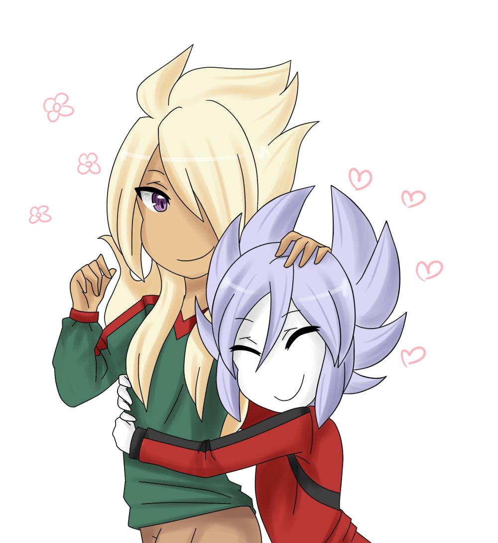 Ryuuzaki and Miyabino by VIMYO