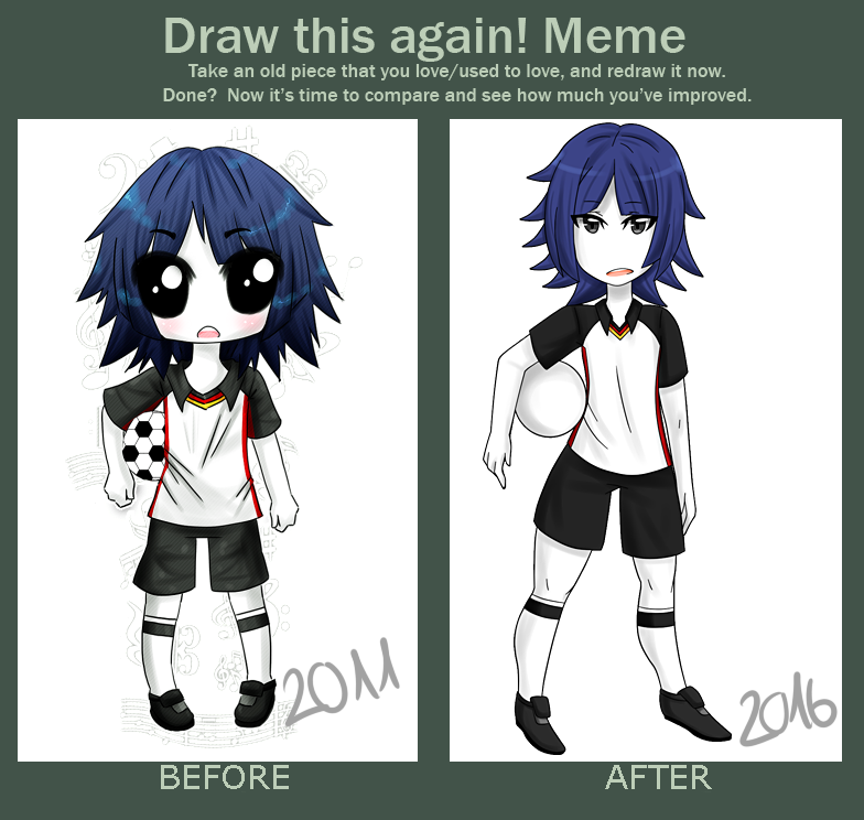 Draw this again! Meme by VIMYO