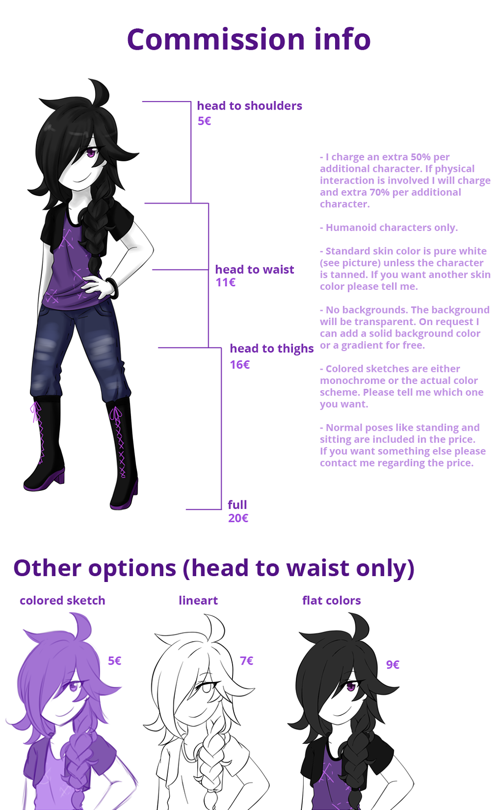 Commission Info by VIMYO