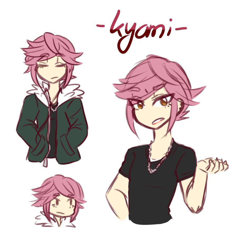 Sketch Character Sheet: Kyomi by VIMYO