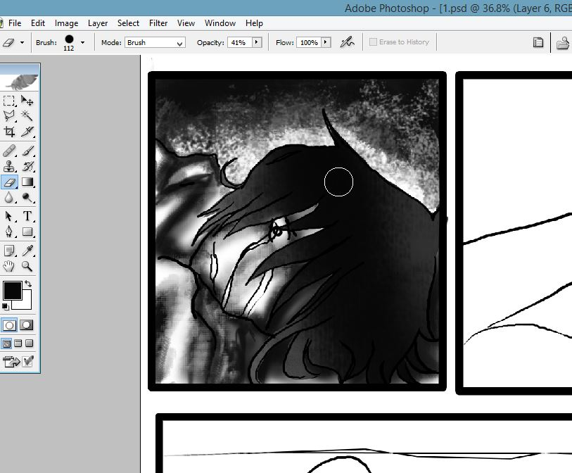 CHAPTER 2 PAGE 1 WIP!!!!!!!! by floriyon