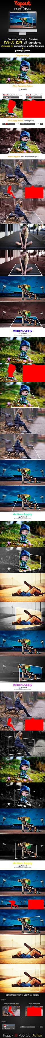 Popout 3D Photo Effects by floriyon