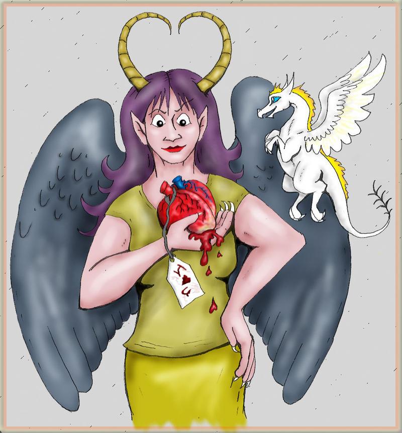 Heartfelt Valentine by Wereducky