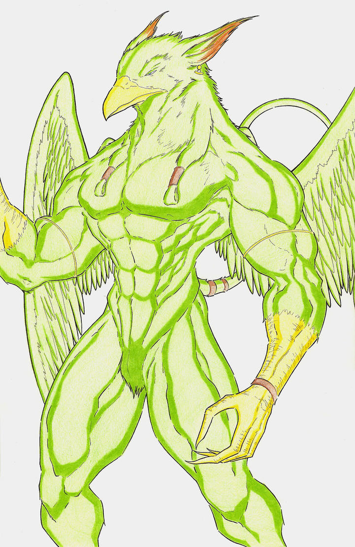 Griffin Quetzal by bitrubio-611